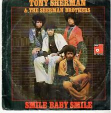 "<2946> 7"" Single: Tony Sherman - Smile Baby Smile / same"