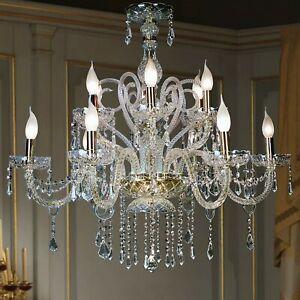 Chandelier Crystal Classic 12 Lights Elite Maria Theresa Design Op