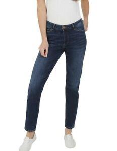 Ex M&S Ladies Denim Jeans Magic Lift Straight Sculpt Added Stretch Marks Spencer