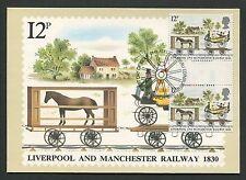 GB UK MK 1980 KUTSCHE PFERD HORSE GUTTER PAIR! MAXIMUM CARD MC CM d4670