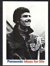 Mark Spitz Olympic Swimmer Signed 5x7 Panasonic Photo 7-Gold Medals 1972 COA