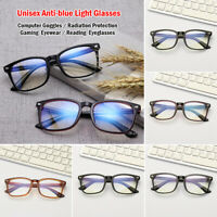 Mirror Gaming Computer Goggles Anti-blue Light Glasses Radiation Protection