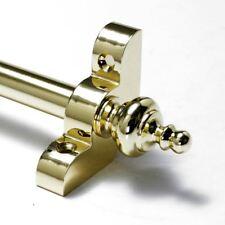 "13 X Polished Brass Stair Rods - 1/2"" x 28.5"" - Premium Range - Urn Finial"