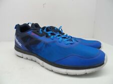 Reebok Men's ZQuick Running Athletic Shoes Soul Blue/Indigo/White Size 12M