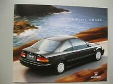 Honda Civic Coupe prestige Prospekt brochure text Dutch 28 pgs 1997