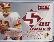 2002 UPPER DECK XL SUPER SWATCH JSY TONY BANKS 179/400