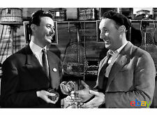 PHOTO POISSON D'AVRIL - MAURICE BIRAUD & BOURVIL - 11X15 CM  # 60