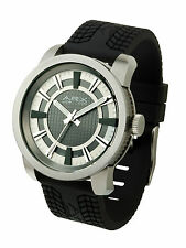 JOS VON ARX - GRID SERIES WHITE ARX WATCH WITH PRESENTATION GIFT BOX
