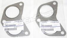 Genuine OEM 14038AA000 Subaru Exhaust manifold gaskets PAIR WRX/STi