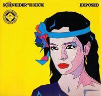 SCHNEIDER WITH THE KICK exposed K 58480 promo german wea 1982 LP PS EX+/EX