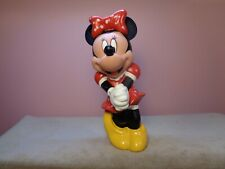 New listing Disney Minnie Mouse 6� Squeak Toy Figure Cake Topper (Dis52)