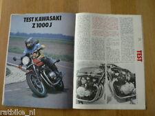MV8112-TEST KAWASAKI Z1000J, HONDA TURBO CX500,