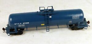 Walthers Custom Painted Tank Car UTLX #87456 No Box 1/87 HO Scale