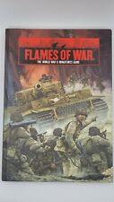 Flames of War World War II Miniatures Game Book Hard Cover!