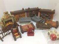 HEROQUEST Figuras - Muebles, Cartas y Dados 100% ORIGINALES VINTAGE 1989 - 1991