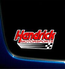 "HENDRICK MOTORSPORTS PRINTED VINYL DECAL STICKER NASCAR HMS 3.8 x 8.4"""