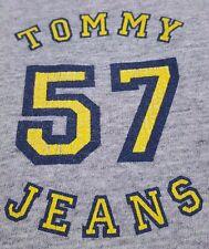 TOMMY Jeans VINTAGE Tee MENS Gray USA Logo 2XL Sz XXL Size COTTON Blend 57 MAN**