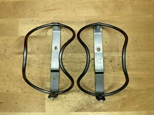 (2) Gray Cannondale GT-40 Water Bottle Cages Pair Set