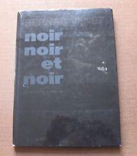 NOIR NOIR ET NOIR by Bernar Venet - 1st HCDJ Marval 1991 - art photography