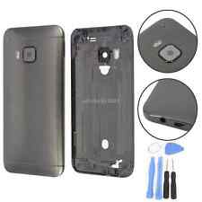 Back Metal Housing Battery Cover Door W/ Camera Glass For HTC One M9 Gray +Tools