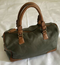 Massimo Dutti genuine leather handbag bag,please Look All Photos For  Measure