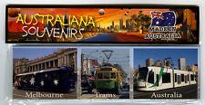 Trams in Melbourne Australia, Photo, Image, Fridge Magnet, Souvenir.