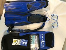 New listing Aqua Lung Sport - Pro Duetto Face Mask, Snorkel and Fins Women Size Small NIP