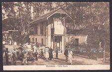 RIMINI RICCIONE 76 AUTOMOBILE d'EPOCA Cartolina viaggiata 1921