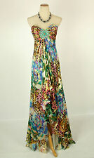 NEW $550 Jovani Multi Long Strapless Gown Evenig Prom Formal Size 6 Dress Cruise