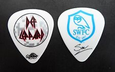 Def Leppard Guitar Pick! Rick Savage Swfc 2011 Tour Sheffield Wednesday Fc pick