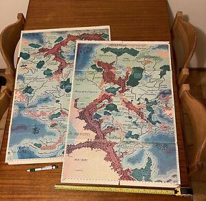 AD&D Greyhawk Maps Large