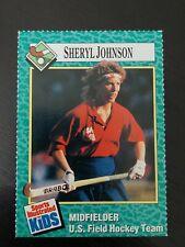 1990 Sports Illustrated For Kids Sheryl Johnson Field Hockey #153