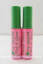 2 PC BY APPLE PINK & GREEN SUPER LASH MASCARA - MAMEY EXTRACT (BLACK)