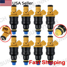 Set Of 8 Flow Matched Bosch 0280150943 Fuel Injectors For Ford 46 50 54 58