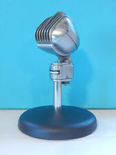 Vintage 1940S Turner 33X Crystal Microphone With Atlas Desk Stand Shure Antique