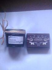 Pinon Pine Black Tar Salve 4 oz.75% Organic Pine gum /4 oz bar  black tar soap