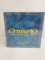 New Sealed Cruise IQ Board Game Geography Travel Educational Trivia Pewter Piece