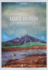 Lord Huron Superhumanoids Fillmore Sf 2/25/2014 Poster Elaine Penwell F1250