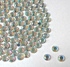 Crystal AB Mix size bag HotFix/Iron On/Glue on Rhinestone 2,3,4,5,6,7mm