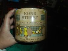 Vintage Bond Street Pipe Tobacco Philip Morris & Co NY London