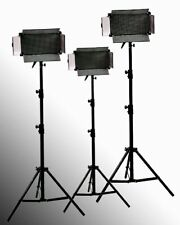 3 x 500 Led Video Photography Dimmable Lighting Panels