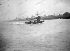 negativ-Hamburg-1930/36-Hafen-Technik-schlepper-Dampfschiff-T16-9