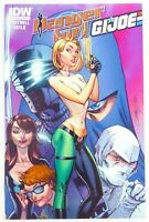 IDW DANGER GIRL/G.I. JOE (2012) #5 J. Scott CAMPBELL Connecting Cover NM (9.4)