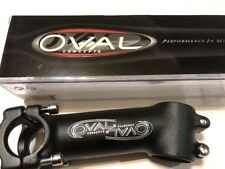 Oval concepts stem Black -Silver 110/73 deg 28.6 - 25.8 Threadless road