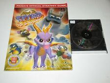 Spyro: Year of the Dragon (Sony PlayStation 1, 2000) Disc Only w/ Strategy Guide
