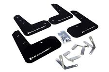 Rally Armor Mud Flaps Guards for 13-16 FRS FR-S BRZ (Black w/White Logo)