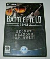 Battlefield 1942: Secret Weapons of WWII PC (edición española muy buen estado)
