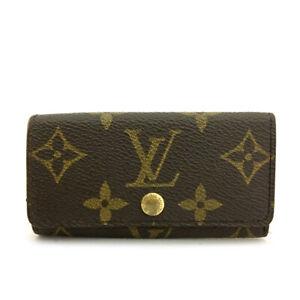 Louis Vuitton Monogram Multicles 4 Ring Key Case / B0503