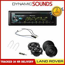 """Land Rover Defender >2012 DEH-X7800DAB & 4"""" Speaker Upgrade DAB Splitter Kit"""
