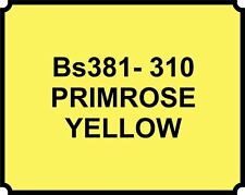 SPRAY CAN PRIMROSE YELLOW HEAT RESISTANT PAINT BRAKE CALIPER ENGINE Proof HOT